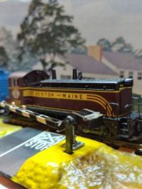 Lifelike SW9 switcher N Scale