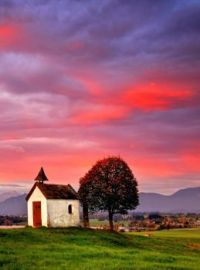 Chapel On The Bavarian Plateau - Germany...