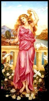 """Helen of Troy"" by Evelyn de Morgan"
