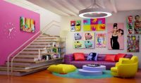 cheeful-living-room-design-with-pop-art-decor