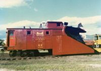 Conway Scenic RR Snow Plow