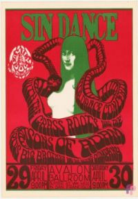 Vintage poster Avalon Ballroom (Family Dog), San Francisco 1966