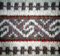 Norwegian knitting pattern