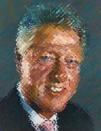 Bill Clinton National Portrait Gallery