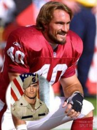 Pat Tillman.. A real life  Hero and role model