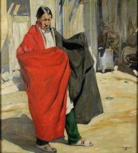 Walter Ufer (American, born in Germany, 1876–1936), Jim (1918)