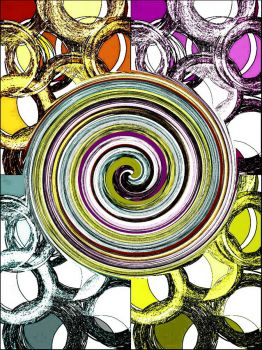 Pop Art with a Swirl - large