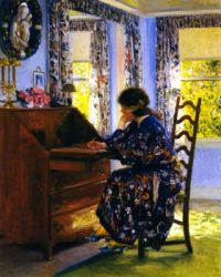 Guy Orlando Rose--The Difficult Reply (also known as The Difficult Response), ca. 1910
