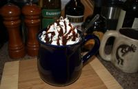Nothing like a nice cup of hot cocoa on a cold snowy day.  :-)
