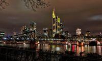 frankfurt-skyline-aeria Photograph by MELMARC