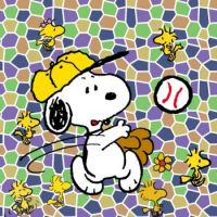Snoopy Baseball