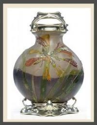 Vase Africana,  Emile Gallé