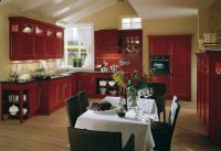 Red Kitchen!