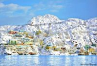 The Battery, St. John's, NL    Under a fresh layer of snow