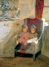 The Artist's Daughters, Gilman, Harold, 1906-1907