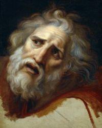 Andrea Appiani (Italian, 1754–1817), Study for Head of Laocoon (1790)