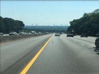 Atlanta skyline on 85