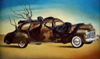 Salvador Dali. The Special Automobile