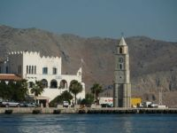 Clocktower on Symi