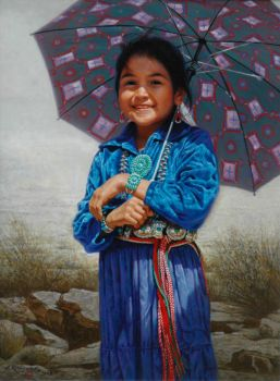 little native girl