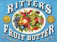 Ritter's Fruit Butter {Vintage Ad}