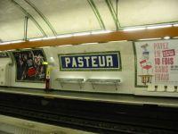 Paris Metro Pasteur Station