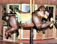 Carousel Animals  ~ Baboon