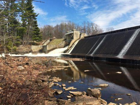 Hannawa Falls dam