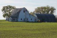 An old Wisconsin barn . .