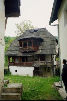 """Dusparina kucha"" old wooden house in Kraljeva Sutjeska, Bosnia"