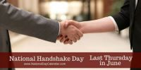 Today Is National Handshake Day!!