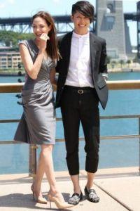 Miyavi and Angelina