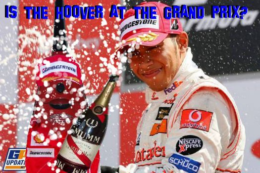51) Is the Hoover at the Grand Prix?