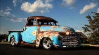 1951 Slammed Patina 3100 Chevy