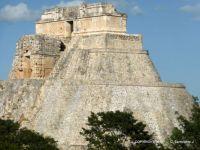 MEXICO - Yucatan - Uxmal - La Piramide del Adivino (Pyramid of the Magician) 5