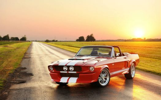 Classic Shelby GT500 Convertible