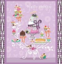 Sweet Birthday Wishes for Iris River