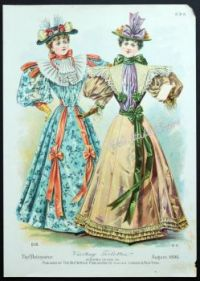 Butterick Fashion Advertisement 1896