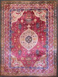 Unknown,_Iran,_mid-16th_Century_-_The_Rothschild_Small_Silk_Medallion_Carpet_-_Google_Art_Project