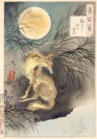 Moon on Musashi Plain