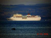 Cruise Ship Costa Neoromantica bound for Amsterdam Netherlands July 27th 2016 #3