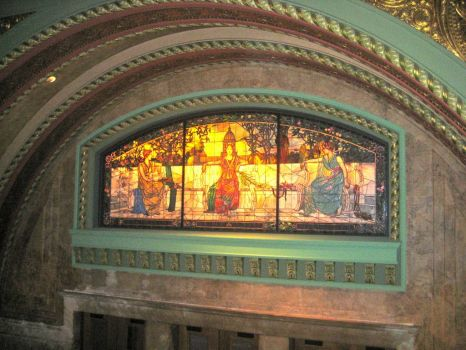stained glass in St Louis