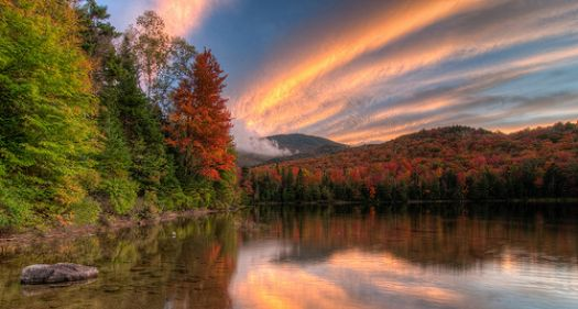 Heart of the sunrise by Acoustic Walden on Nature Conservancy page
