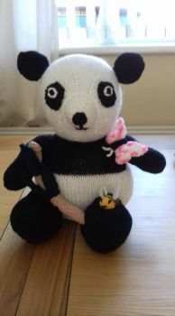 My knitted Panda