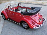 1963 VW convertible top down