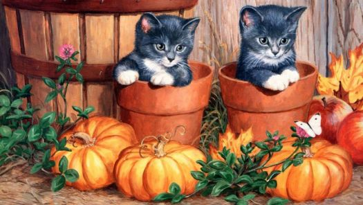 Halloween Kitties II