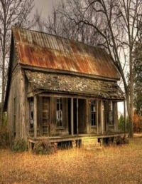 old cabin