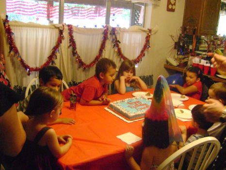Having a Birthday Party