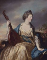 Alice, Countess of Shipbrook by Francis Cotes 18th century