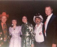 Paul,Linda,Bobby Wright,Johnny Wright, & Kitty Wells